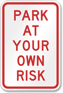 Safety signage and security